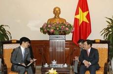 Le Vietnam estime les APD accordées par le Japon pour son développement