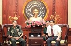 Pour resserrer les relations traditionnelles Vietnam-Cambodge
