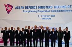 Défense : le Vietnam soutient les priorités de l'ASEAN en 2018