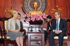 Hô Chi Minh-Ville et les Pays-Bas coopèrent sur la prévention des inondations