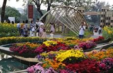 Ode à l'amour du printemps des rivières à la foire aux fleurs de Phú My Hung