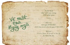 À Hanoi, une exposition feuillete cent ans en lettres manuscrites