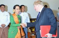 Le Royaume-Uni et le Myanmar discutent de la crise des Rohingyas