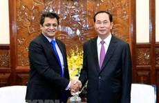 Le président Trân Dai Quang appelle les entreprises indiennes à investir au Vietnam