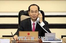 Conversation téléphonique Tran Dai Quang-Donald Trump