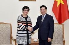 Le Vietnam veut davantage de soutien du Centre du commerce international