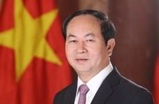 Le président Tran Dai Quang apprécie les initiatives de développement de l'Inde