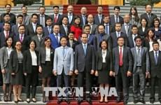Pour accélérer les activités de services du commerce à l'étranger
