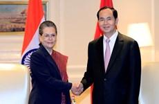 Activités du président Tran Dai Quang en Inde