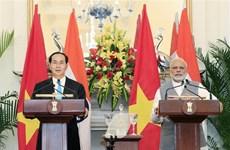 Le président Tran Dai Quang termine ses visites d'Etat en Inde et au Bangladesh