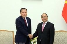 Le PM Nguyên Xuân Phuc exhorte Lotte à élargir ses affaires au Vietnam