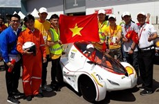 Université Lac Hông, champion du Shell Eco Marathon Asia 2018