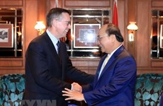 Le PM Nguyen Xuan Phuc rencontre les responsables de plusieurs grands groupes néo-zélandais
