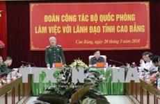 Cao Bang se prépare à l'échange de défense frontalier Vietnam-Chine