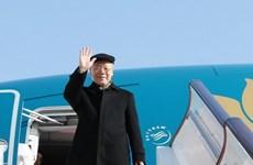Le leader du PCV Nguyen Phu Trong part pour une visite officielle en France