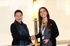 Nguyen Thi Kim Ngan rencontre la présidente de l'UIP