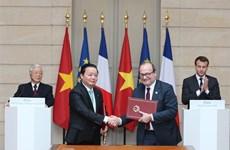 Le leader du PCV et le président français affirment une nouvelle dynamique aux liens