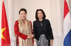 Entretien Nguyen Thi Kim Ngan et Khadija Arib