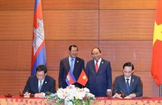 Réunion du Comité mixte sur la démarcation et le bornage des frontières terrestres Cambodge-Vietnam à Hanoi
