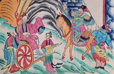 S-River et son premier livre sur les estampes populaires de Hàng Trông