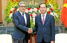 Le chef de l'Etat reçoit le secrétaire du Conseil national de sécurité de Mongolie
