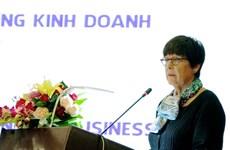 L'ambassadrice belge en visite à Nghê An