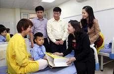 Aider les enfants malformés