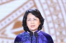 Dang Thi Ngoc Thinh part pour le Sommet mondial des femmes en Australie