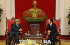 Visite d'une délégation du Parti communiste français au Vietnam
