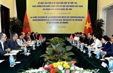 La 4e réunion du Comité mixte Vietnam - Maroc à Hanoi