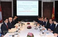 À Singapour, le PM Nguyên Xuân Phuc parle révolution industrielle 4.0