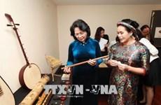 Suite de la visite de Dang Thi Ngoc Thinh en Australie