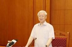 Réunion de la permanence du Comité central contre la corruption