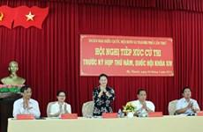 Des dirigeants à l'écoute des électeurs de Cân Tho et Long An