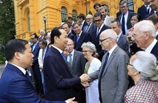 Le président Trân Dai Quang rencontre des scientifiques vietnamiens et internationaux