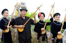 """Diverses activités du festival du chant """"then"""" et du """"dan tinh"""" 2018"""