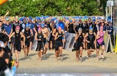 Plus de 1.600 sportifs participent au Concours Ironman 70.3