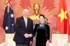La présidente de l'AN rencontre le gouverneur général d'Australie
