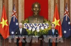 L'Australie et le Vietnam promeuvent leurs relations bilatérales
