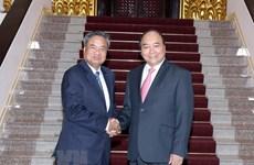 Le PM Nguyên Xuân Phuc promet plus de soutien à la formation au Laos