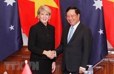 Réunion des ministres des Affaires étrangères Vietnam-Australie