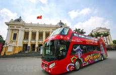 La capitale Hanoi en bus à impériale à toit ouvert