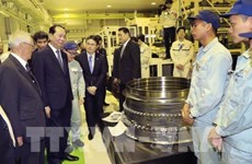 Les médias japonais couvrent la visite du président vietnamien dans leur pays