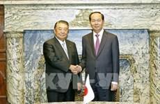 Vietnam-Japon : Entrevue Trân Dai Quang - Oshima Tadamori