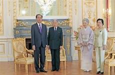 Le président Tran Dai Quang termine sa visite d'État au Japon