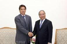 Le PM Nguyen Xuan Phuc reçoit l'ambassadeur de Grèce au Vietnam