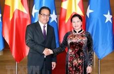 Renforcement des liens avec les Etats fédérés de Micronésie