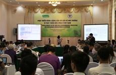 Plan du futur de l'énergie propre au Vietnam