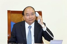 Les Premiers ministres vietnamien et danois s'entretiennent au téléphone