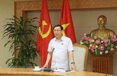 AN : le vice-PM Vuong Dinh Hue présente un rapport d'explication